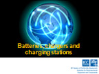 Presentation: Batteries, chargers and charging stations